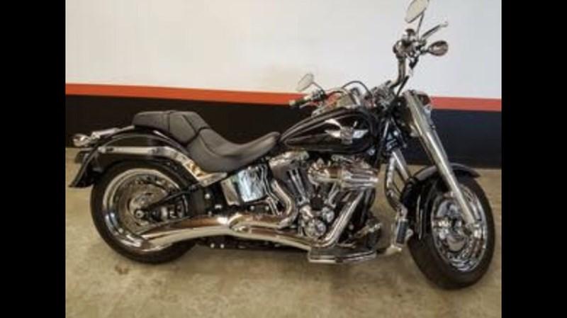 Photo of a 2005 Harley-Davidson® FLSTFIAE Fat Boy® 15th Anniversary Edition