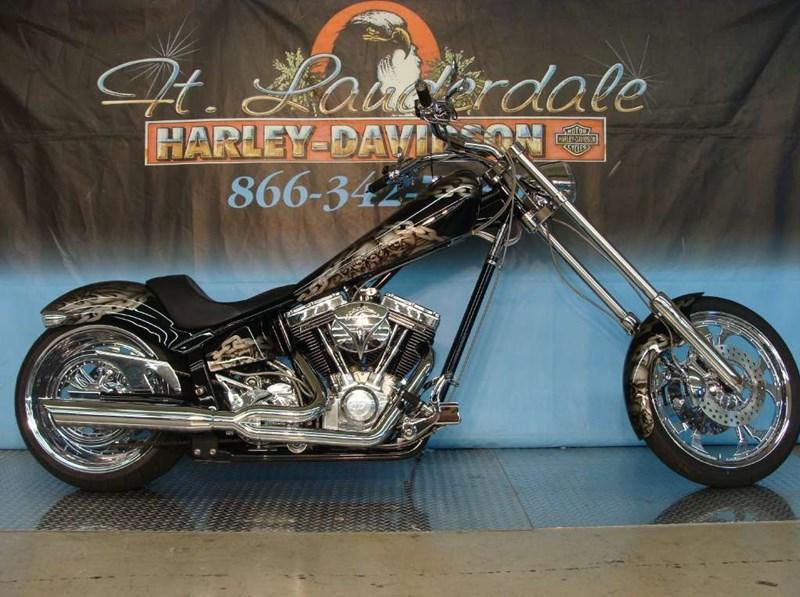 2007 American IronHorse Texas Chopper (Black), Richfield