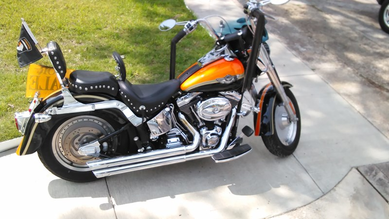 Photo of a 2003 Harley-Davidson® FLSTF/I-ANV Fat Boy® Anniversary