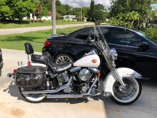 Photo of a 1993 Harley-Davidson® FXSTC Softail® Custom