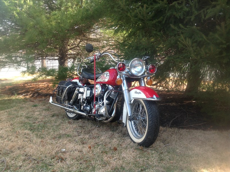 Photo of a 1968 Harley-Davidson® FLH Electra Glide