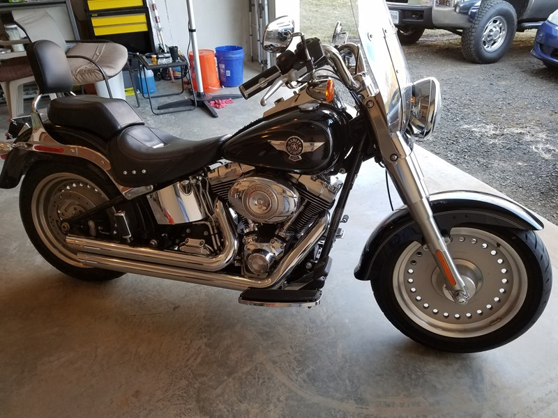 Photo of a 2011 Harley-Davidson® FLSTF Softail® Fat Boy®