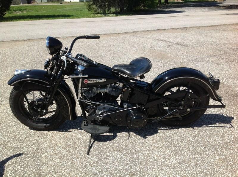 Photo of a 1948 Harley-Davidson® EL Special Sport Solo