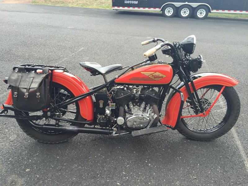 Photo of a 1934 Harley-Davidson® VLD Special Sport Solo