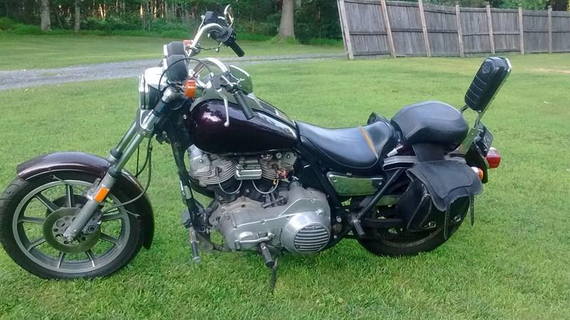 Photo of a 1982 Harley-Davidson® FXR Super Glide® II
