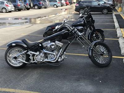 Used 2009 Bourget Bike Works Dragon