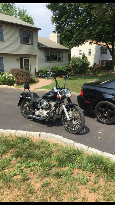 2002 Harley-Davidson® FXST/I Softail® Standard (Black), Bridgewater