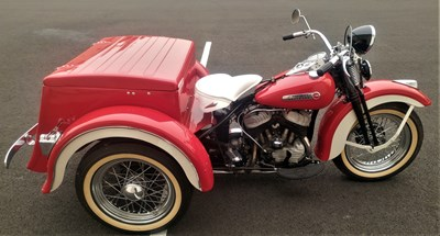 Used 1948 Harley-Davidson® Servi-Car with tow bar