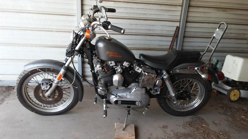Photo of a 1974 Harley-Davidson® XLH Sportster® 1000 Ironhead