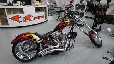 Used 2004 Hellbound Steel Chopper