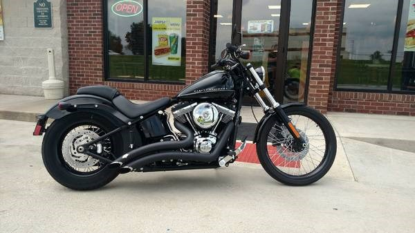 Photo of a 2012 Harley-Davidson® FXS Softail® Blackline®