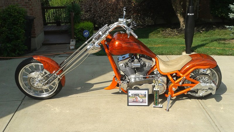 Photo of a 2004 Bourget Bike Works  Python Chopper