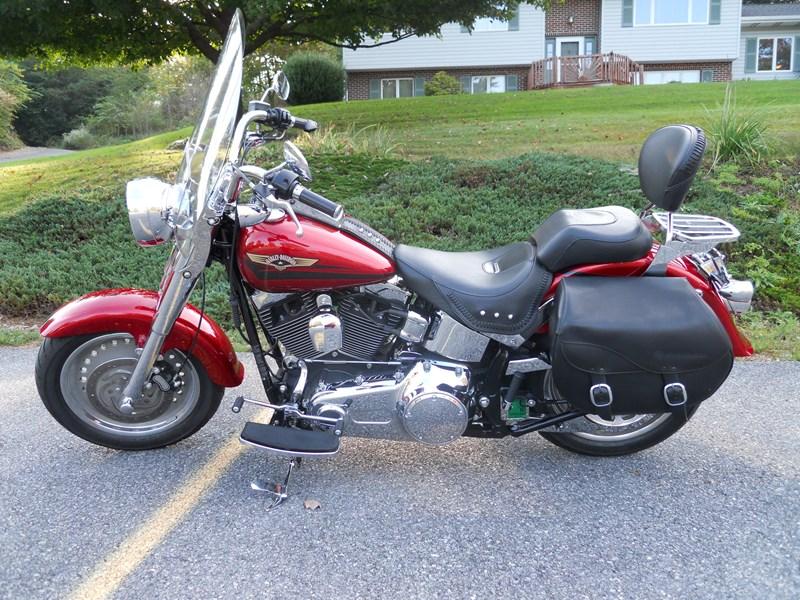 Photo of a 2008 Harley-Davidson® FLSTF Softail® Fat Boy®