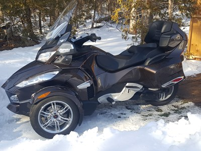 Used 2012 Can-Am Spyder RT Limited