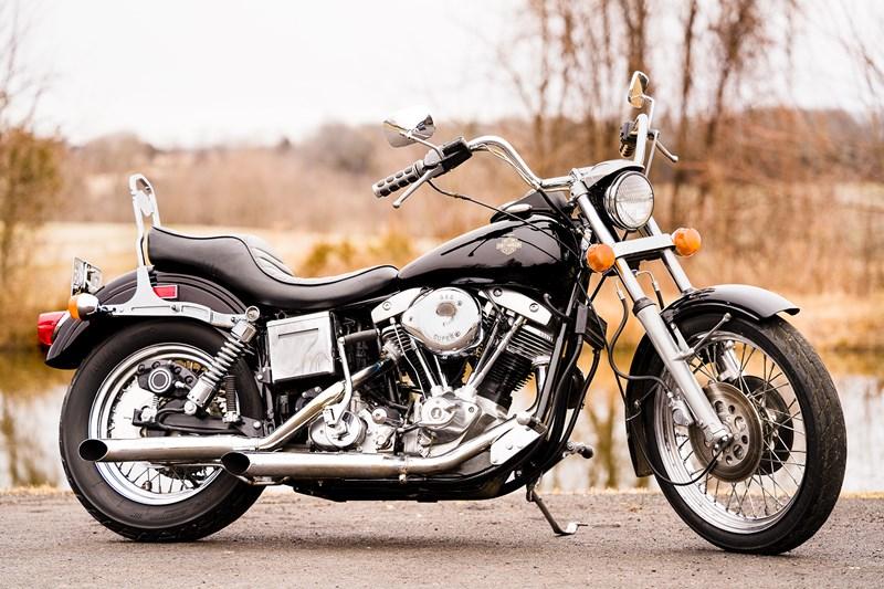 Photo of a 1975 Harley-Davidson® FXE Super Glide®