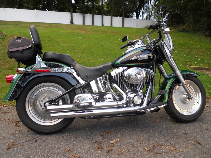 Photo of a 2006 Harley-Davidson® FLSTF/I Softail® Fat Boy®