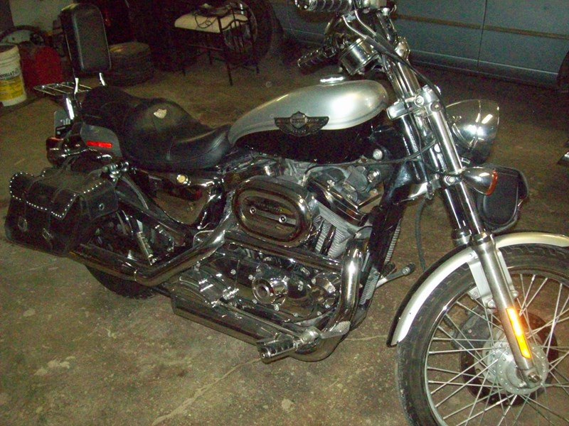 Photo of a 2003 Harley-Davidson® XL1200C-ANV Sportster® 1200 Custom Anniversary
