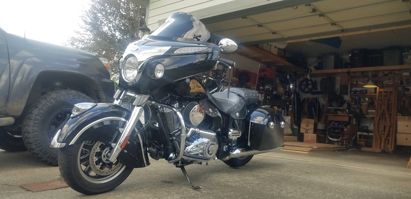 Photo of a 2014 Indian® Motorcycle  Chieftain®
