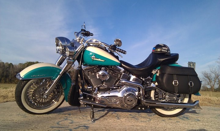 Photo of a 2006 Harley-Davidson® FLSTN/I Softail® Deluxe