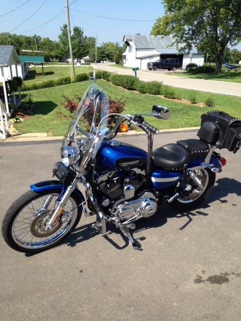 Photo of a 2008 Harley-Davidson® XL1200C Sportster® 1200 Custom