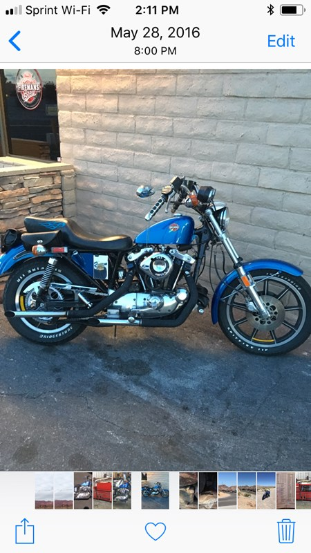 Photo of a 1981 Harley-Davidson® XLH Sportster® 1000