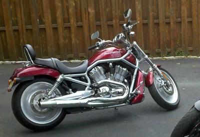 Used Motorcycles Nj >> V Rod Silver Gray Frame