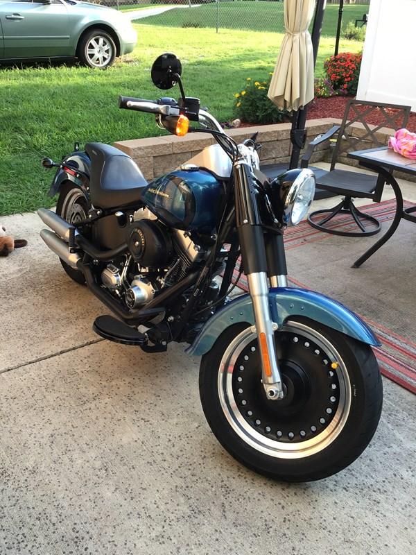 Photo of a 2014 Harley-Davidson® FLSTFB Softail® Fat Boy® Lo
