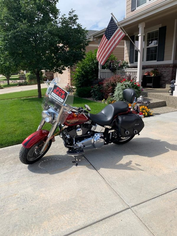 Photo of a 2008 Harley-Davidson® FLSTF Softail® Fat Boy®