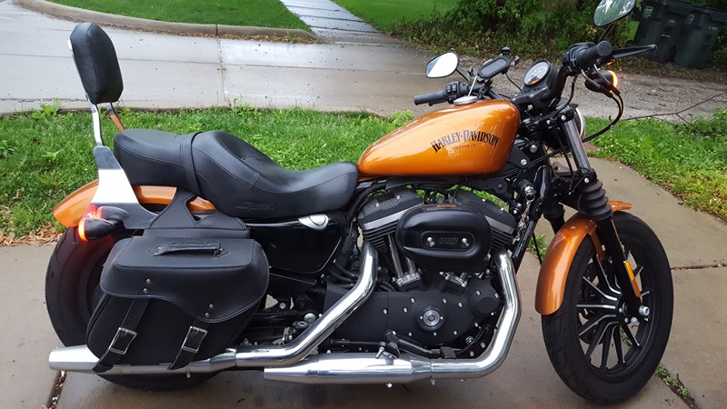 Harley Davidson Baton Rouge >> 2014 Harley-Davidson® XL883N Sportster® Iron 883™ (Orange), Brookfield , Illinois (726968 ...