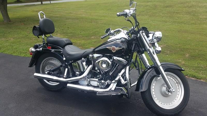 Photo of a 1998 Harley-Davidson® FLSTF Fat Boy®