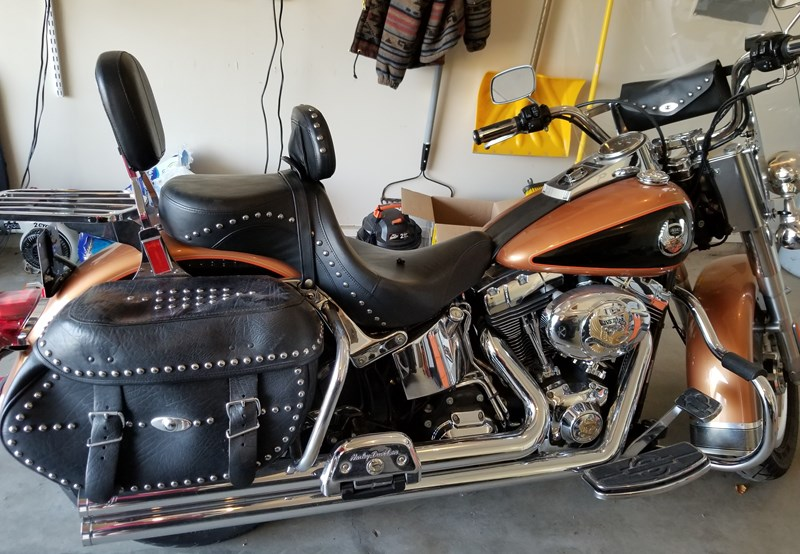 Photo of a 2008 Harley-Davidson® FLSTC-ANV Heritage Softail® Classic Anniversary