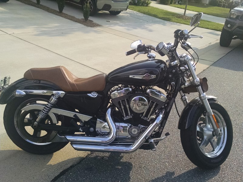Photo of a 2012 Harley-Davidson® XL1200C Sportster® 1200 Custom