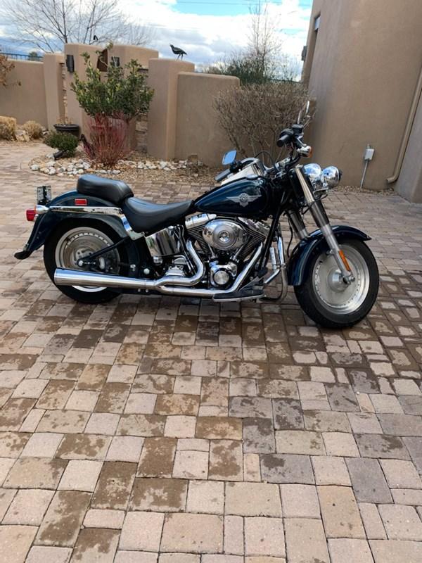 Photo of a 2002 Harley-Davidson® FLSTF/I Softail® Fat Boy®