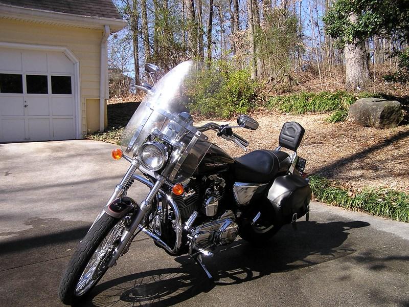 Photo of a 2004 Harley-Davidson® XL1200C Sportster® 1200 Custom