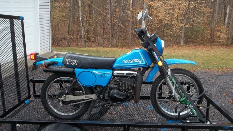 Photo of a 1980 Suzuki TS100