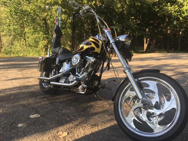 Photo of a 1993 Harley-Davidson® FXSTC Softail® Custom