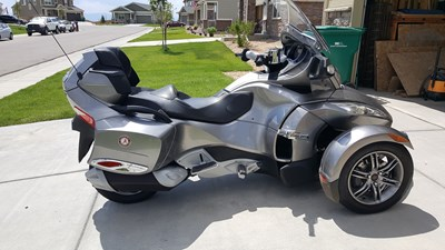 Used 2012 Can-Am Spyder RT Limited SE5