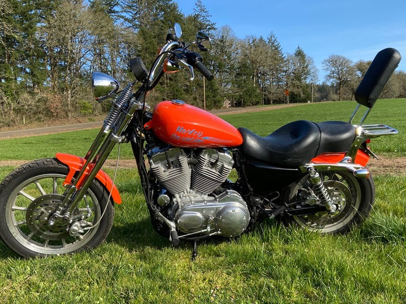 Photo of a 2007 Harley-Davidson® XL883C  Sportster® 883 Custom