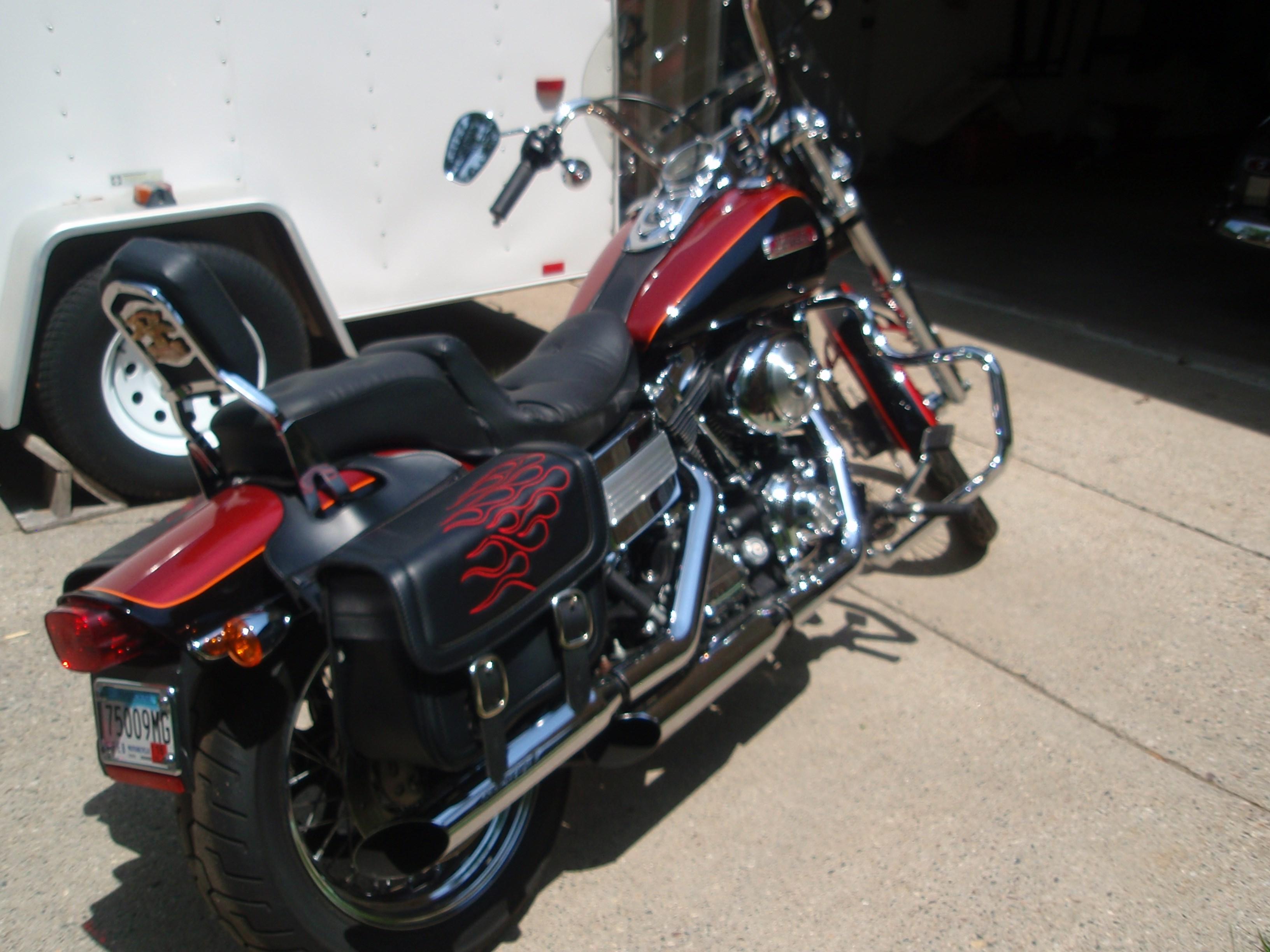 Dyna Motorcycles For Sale Minnesota >> 2006 Harley-Davidson® FXDWG/I Dyna® Wide Glide® (red & balck), apple valley, Minnesota (710643 ...