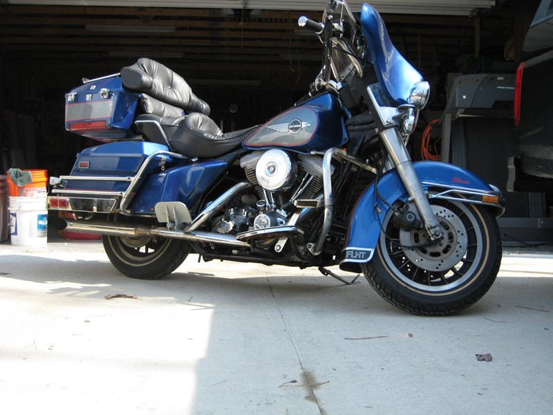 Photo of a 1984 Harley-Davidson® FLHT Electra Glide®