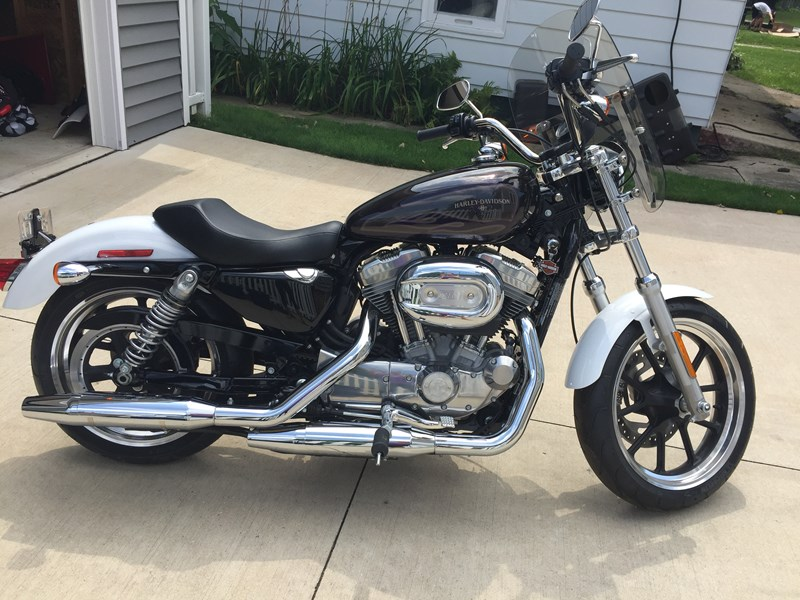 Photo of a 2016 Harley-Davidson® XL883L Sportster® SuperLow®
