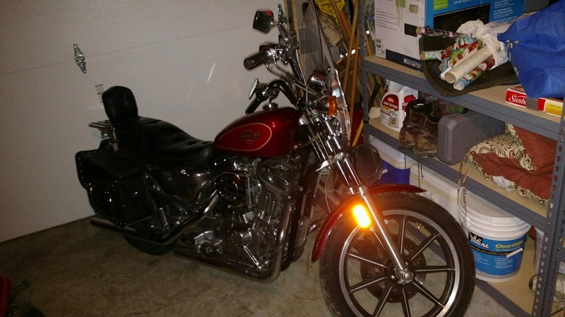 Photo of a 1995 Harley-Davidson® XLH-1200 Sportster® 1200