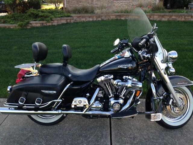 New Lenox Illinois >> 2007 Harley-Davidson® FLHRC Road King® Classic (Black ...