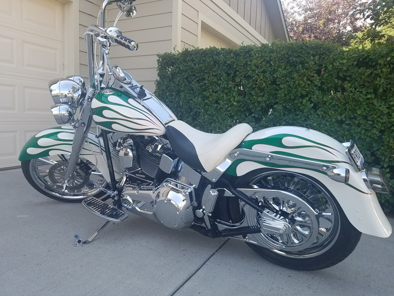 Photo of a 2005 Harley-Davidson® FLSTF/I Fat Boy®