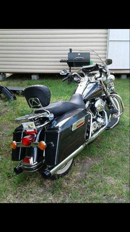 2008 Harley Davidson Flhr Road King Silver New Smyrna Beach