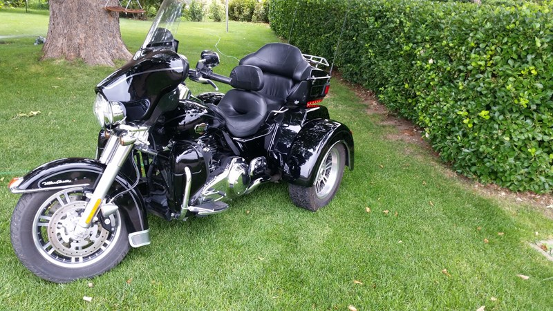 Photo of a 2009 Harley-Davidson® FLHTCUTG Tri Glide™ Ultra Classic®
