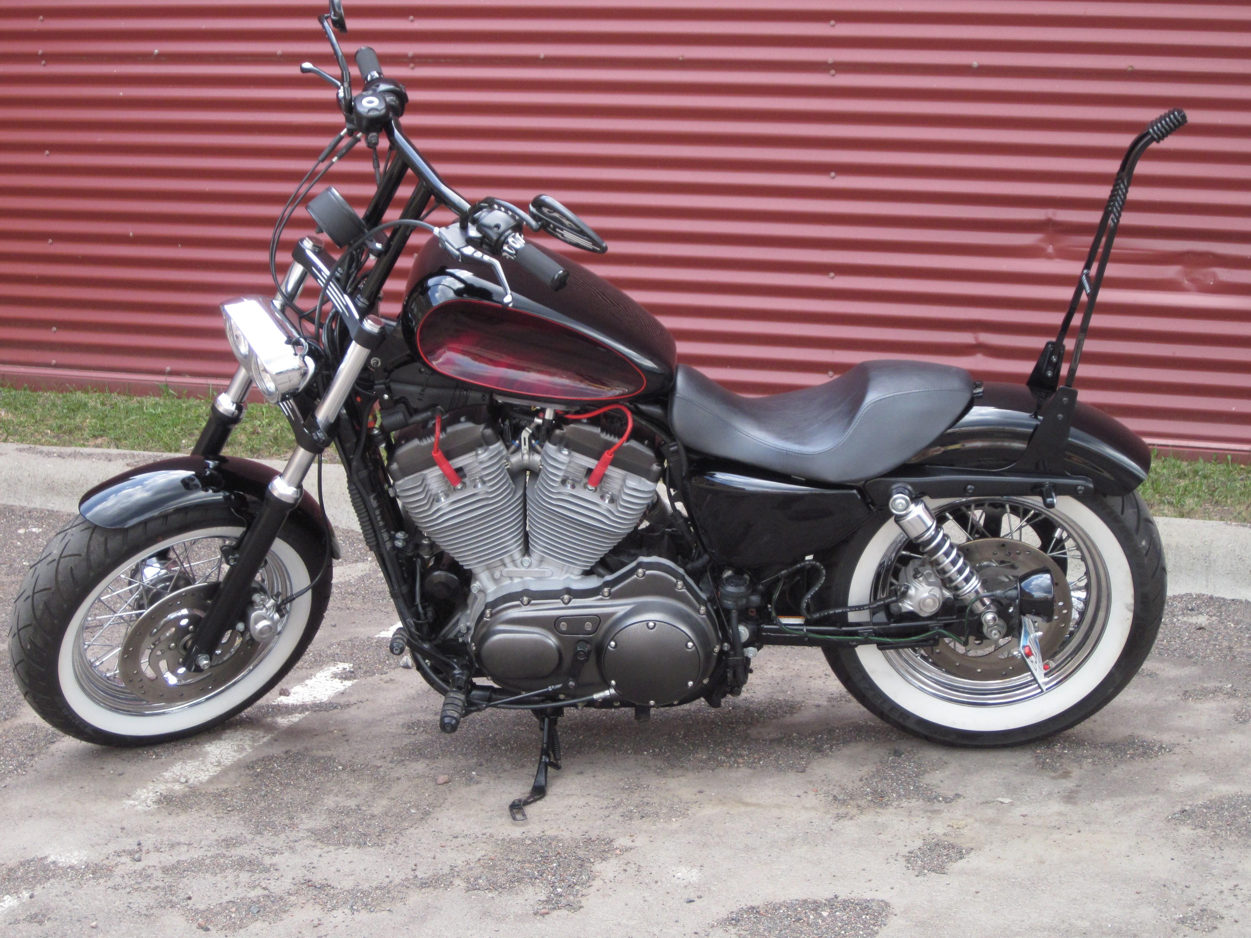 Harley Davidson Dealership Minnesota >> 2007 Harley-Davidson® XL883C Sportster® 883 Custom (Black), Duluth, Minnesota (740615)   CycleCrunch