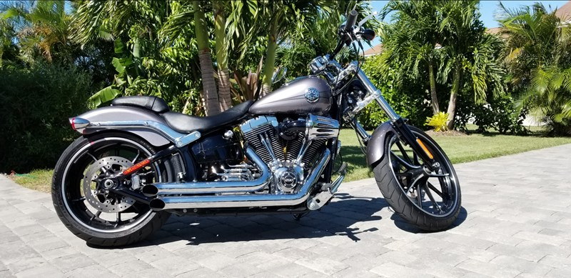 Photo of a 2015 Harley-Davidson® FXSB Softail® Breakout®