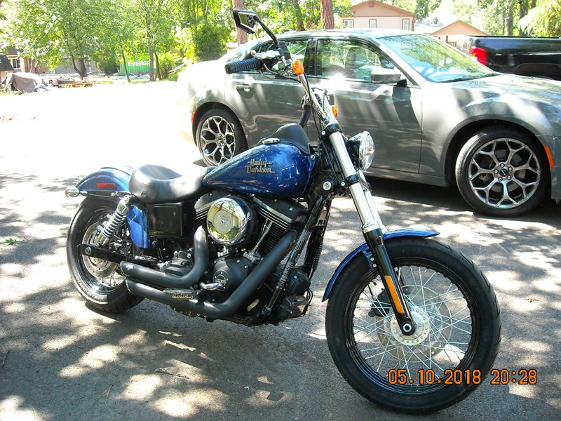 Photo of a 2015 Harley-Davidson® FXDB Dyna® Street Bob®