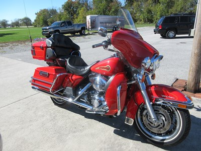 Used 2003 Harley-Davidson® Ultra Classic® Electra Glide® Firefighter/Peace Officer